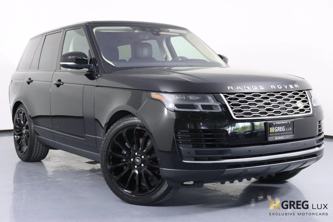 2019 Land Rover Range Rover 5.0L V8 Supercharged #0