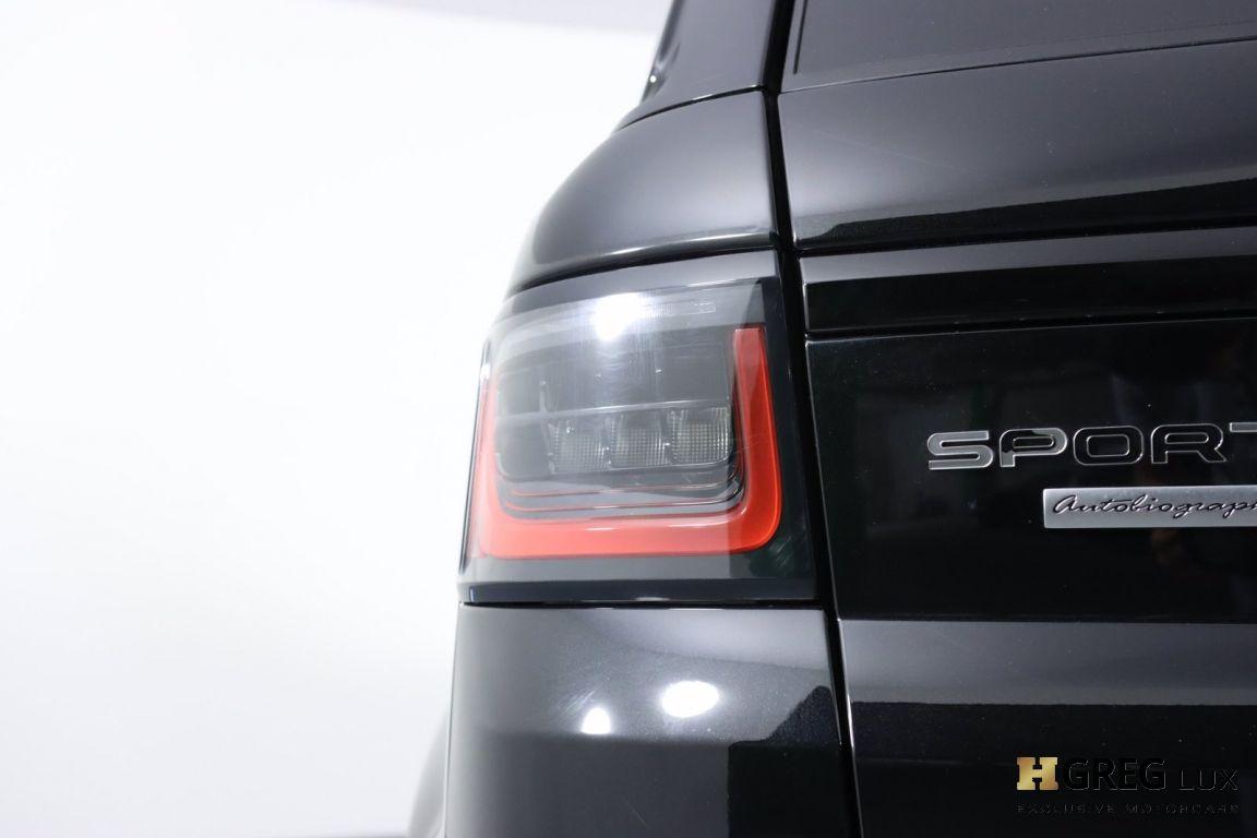 2019 Land Rover Range Rover Sport Autobiography #19