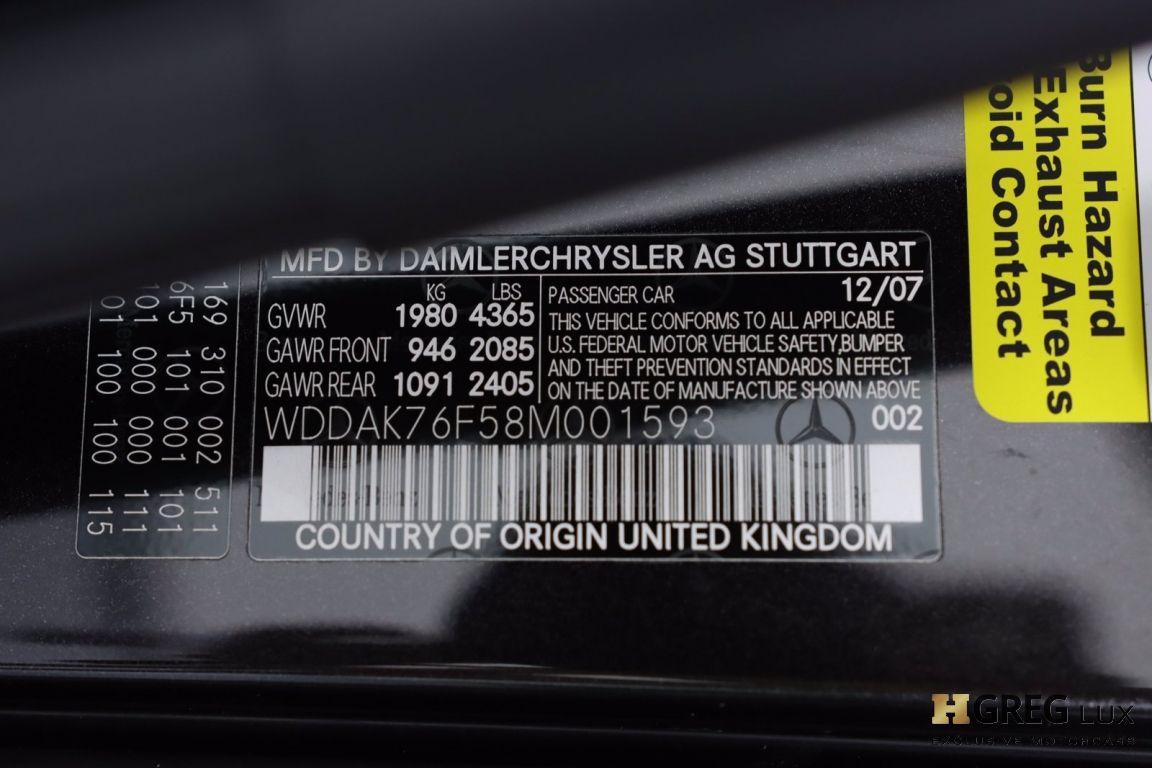 2008 Mercedes Benz SLR McLaren  #62