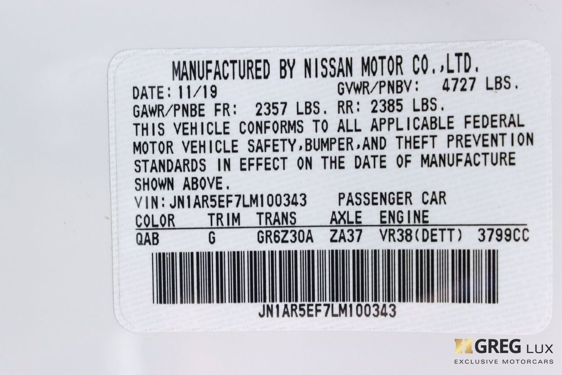 2020 Nissan GT R Premium #59
