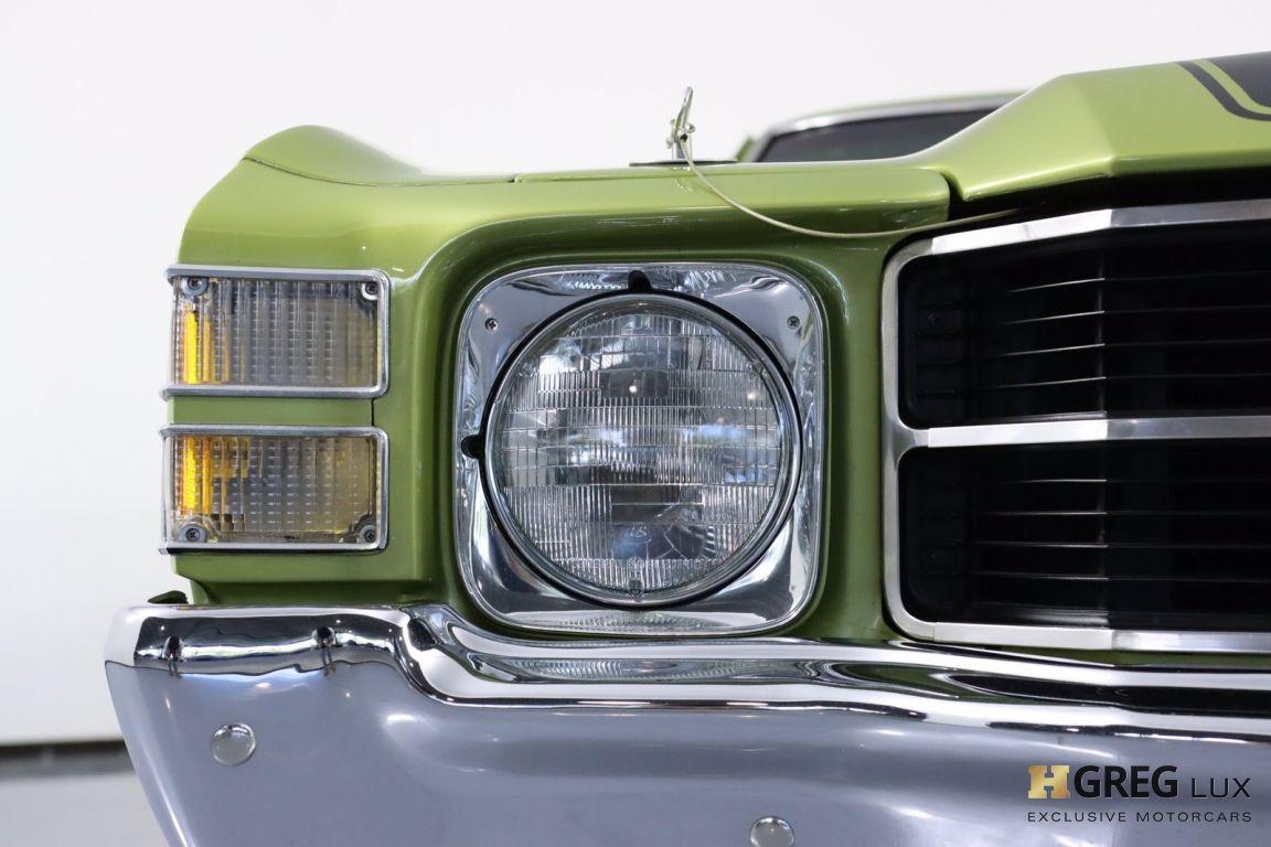 1971 Chevrolet Chevelle SS #4