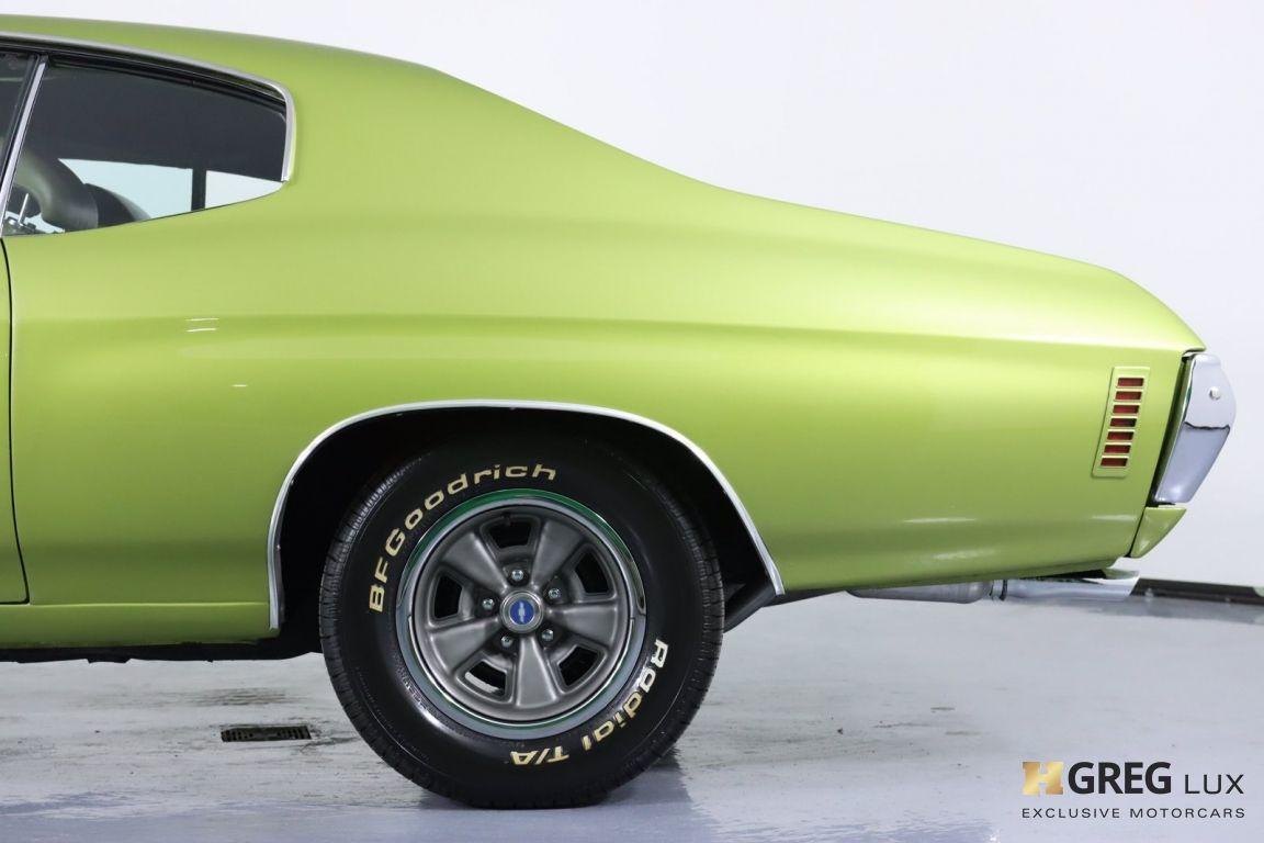 1971 Chevrolet Chevelle SS #28