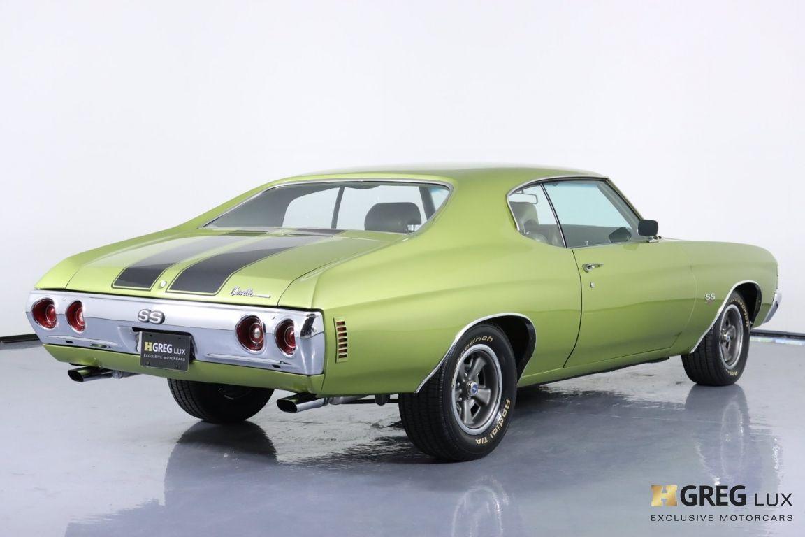 1971 Chevrolet Chevelle SS #17