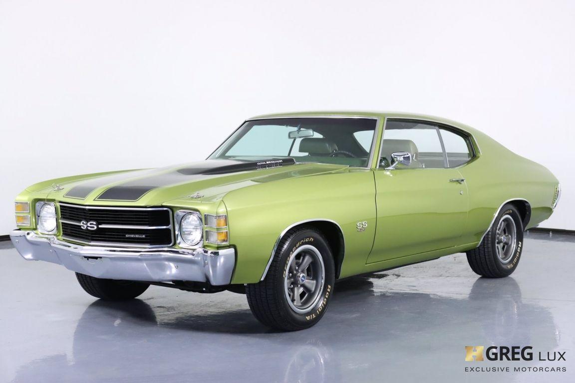 1971 Chevrolet Chevelle SS #30