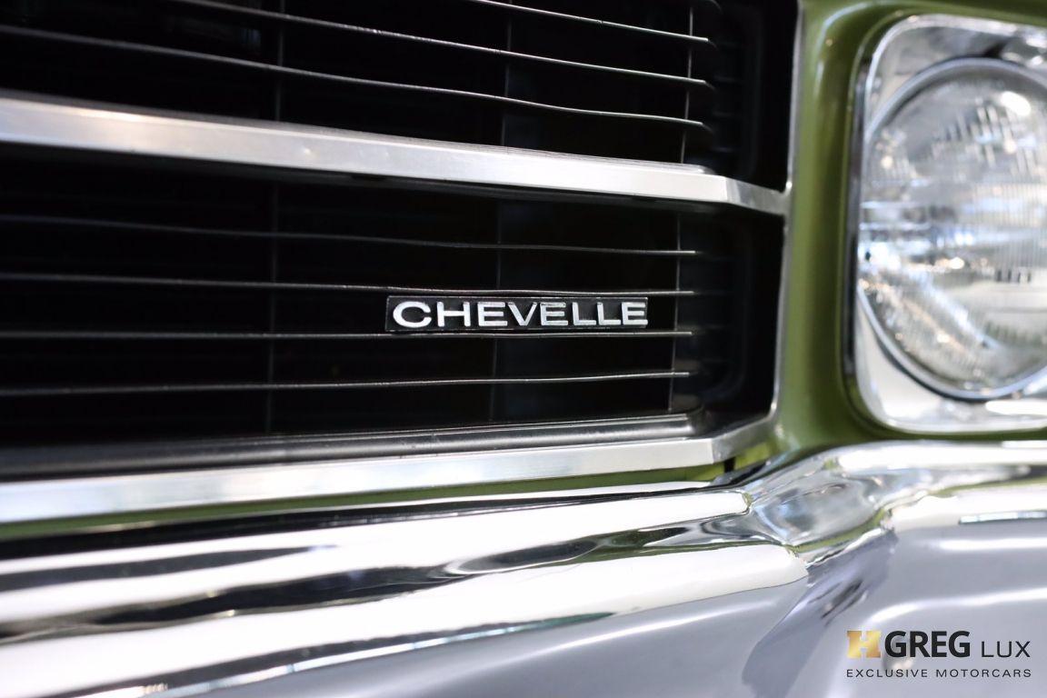 1971 Chevrolet Chevelle SS #6