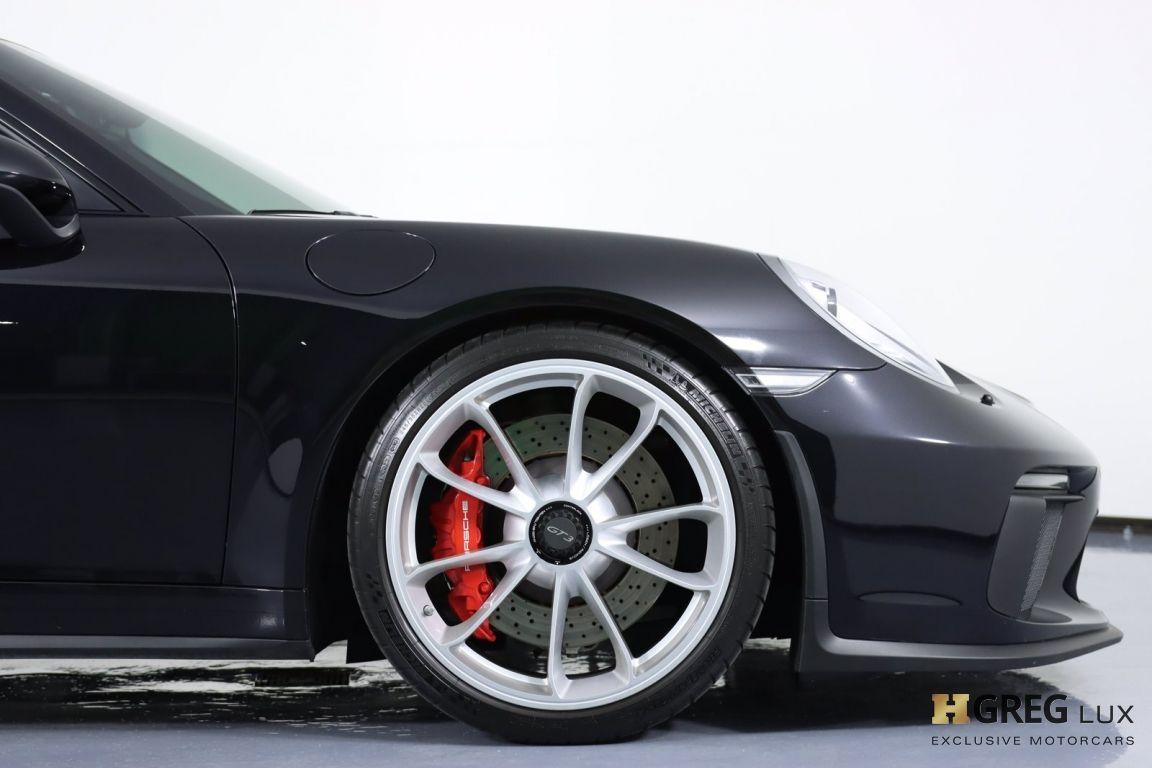 2018 Porsche 911 GT3 #11
