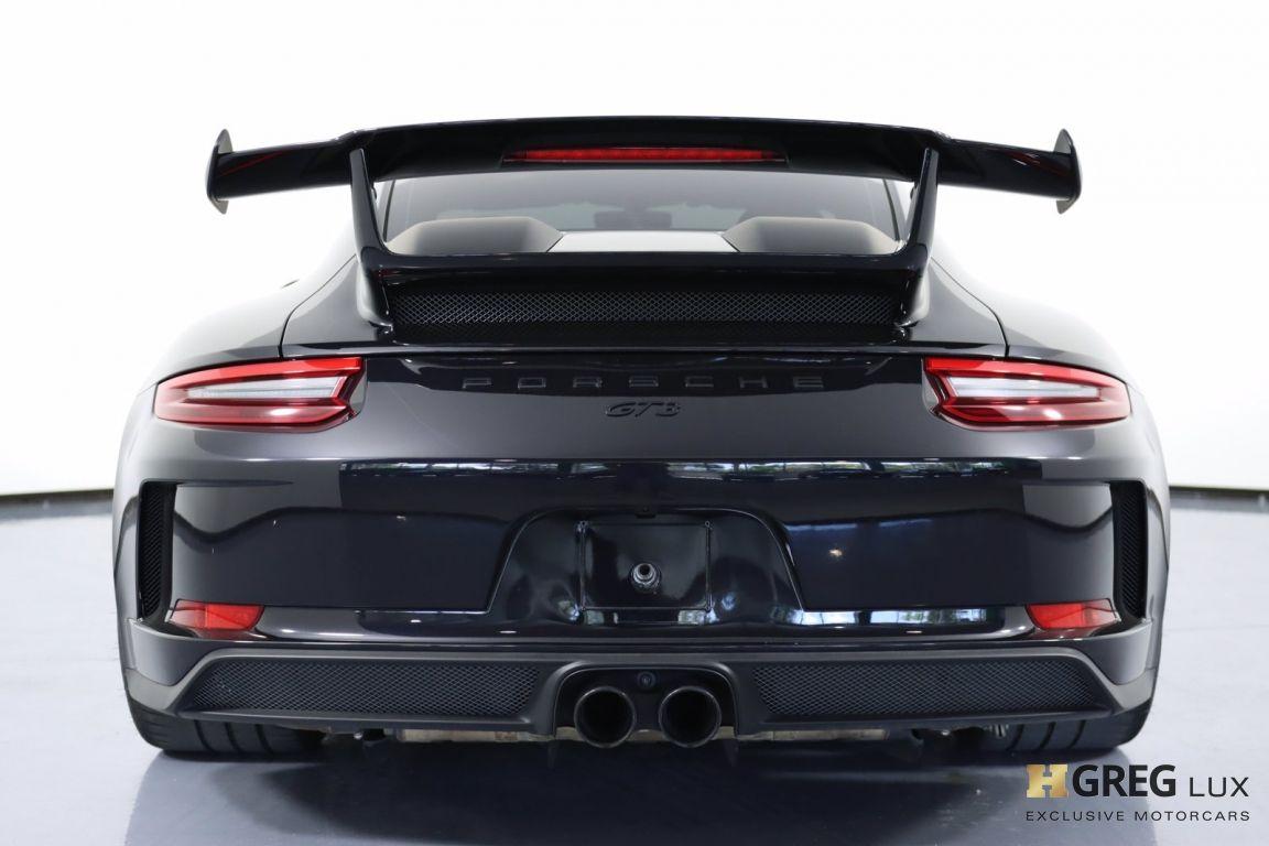 2018 Porsche 911 GT3 #18