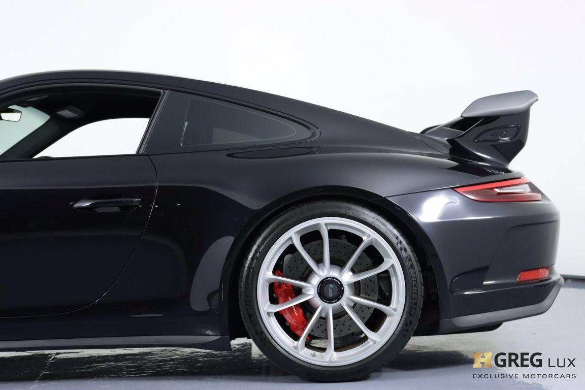 2018 Porsche 911 GT3 #29