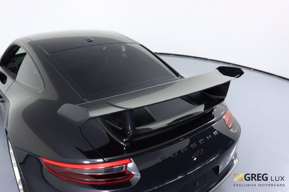 2018 Porsche 911 GT3 #22