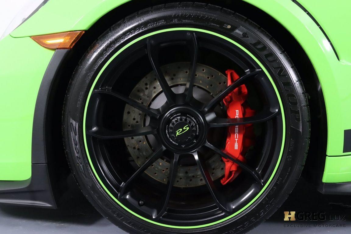 2019 Porsche 911 GT3 RS #31