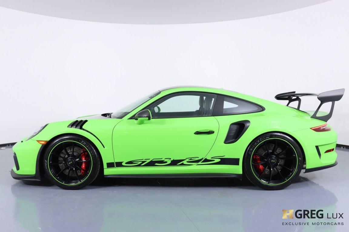 2019 Porsche 911 GT3 RS #29
