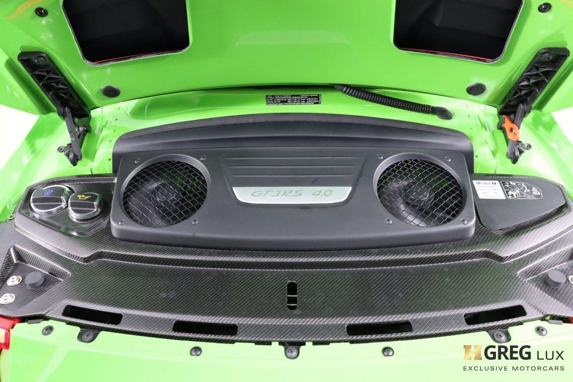 2019 Porsche 911 GT3 RS #57