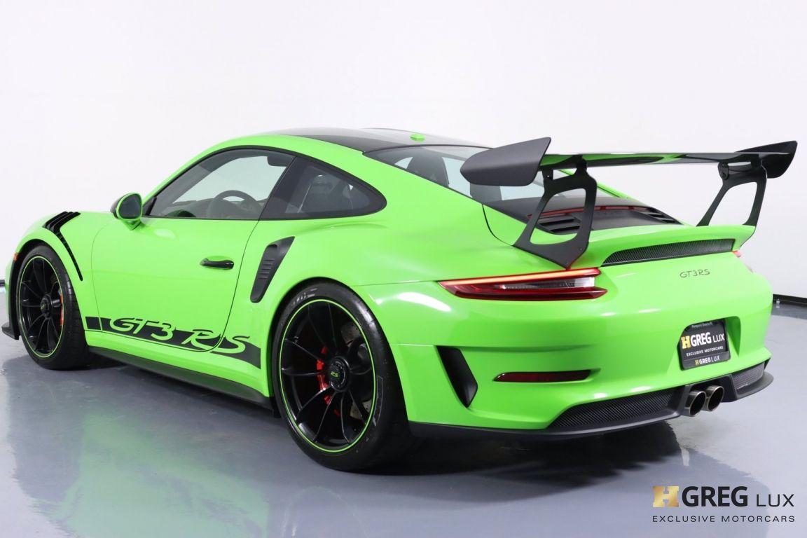 2019 Porsche 911 GT3 RS #28