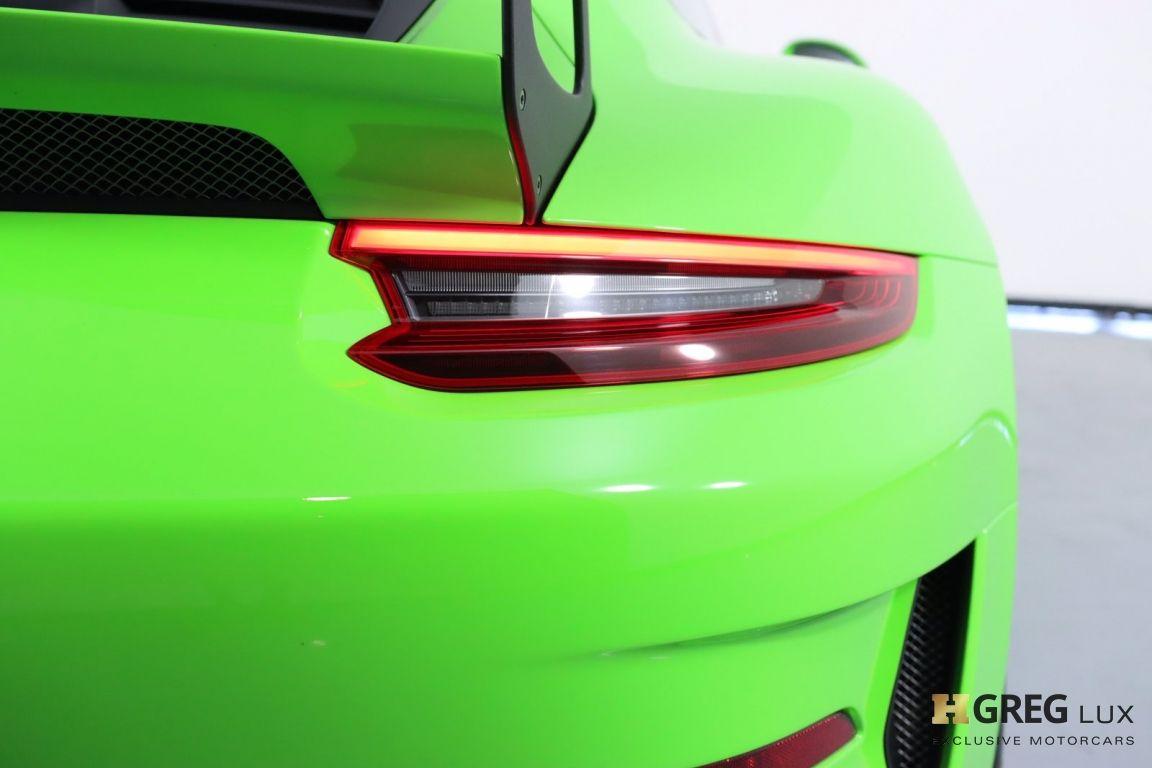 2019 Porsche 911 GT3 RS #25