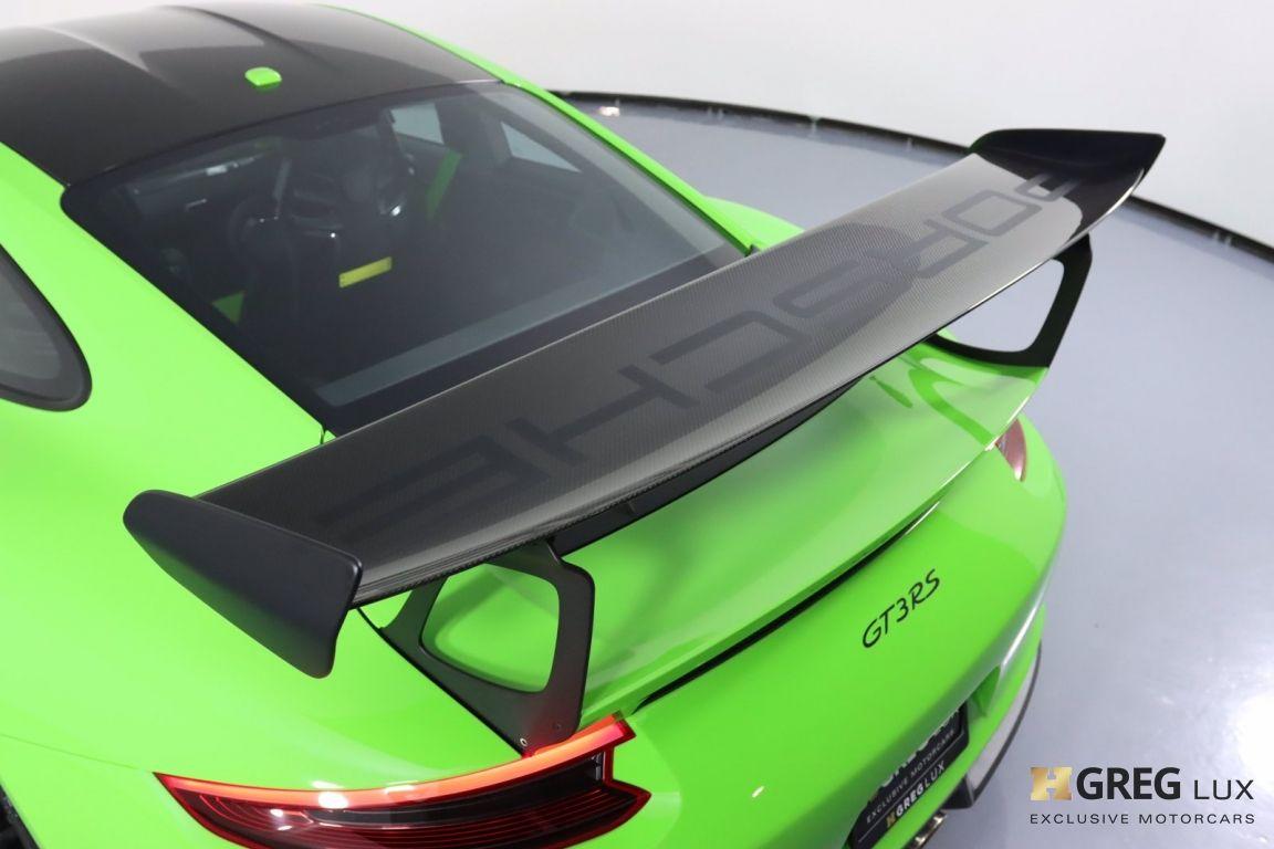 2019 Porsche 911 GT3 RS #26