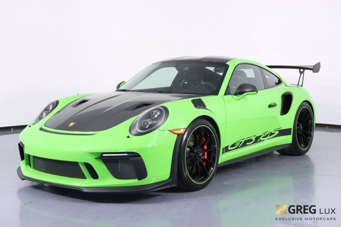 2019 Porsche 911 GT3 RS #36