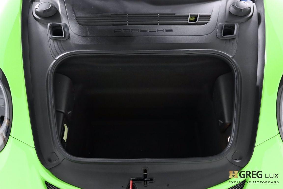 2019 Porsche 911 GT3 RS #60