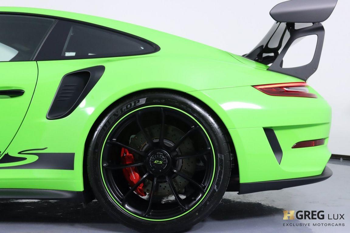 2019 Porsche 911 GT3 RS #33