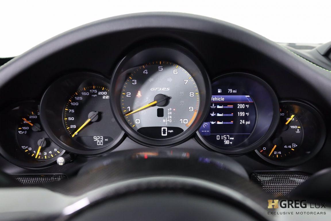 2019 Porsche 911 GT3 RS #55