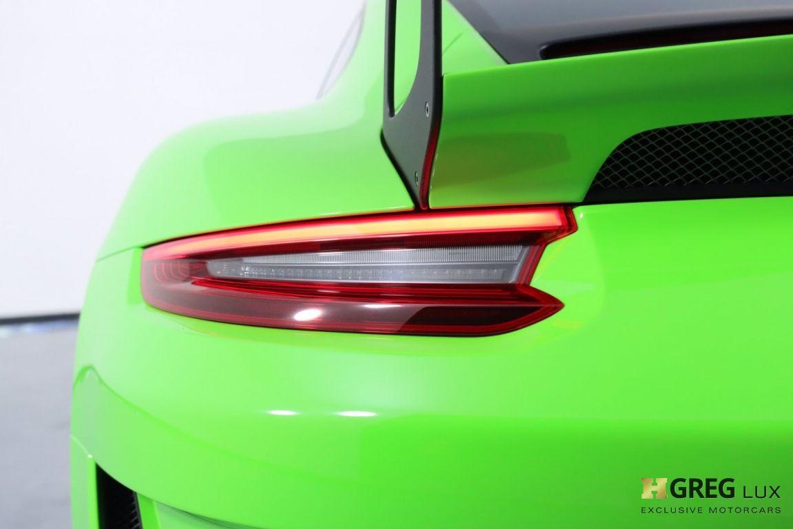 2019 Porsche 911 GT3 RS #24