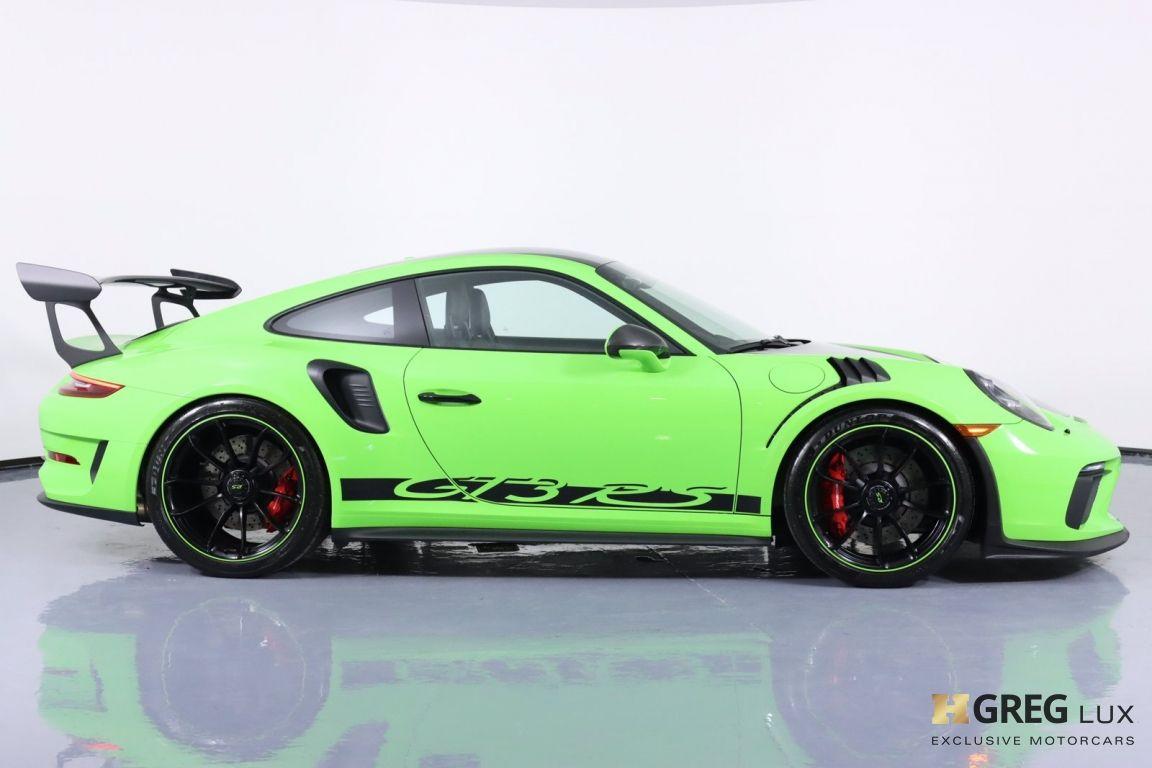 2019 Porsche 911 GT3 RS #12
