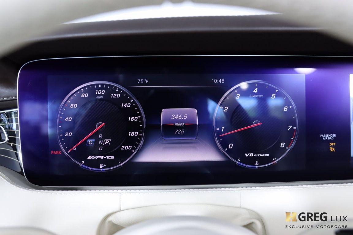 2019 Mercedes Benz S Class AMG S 63 #67