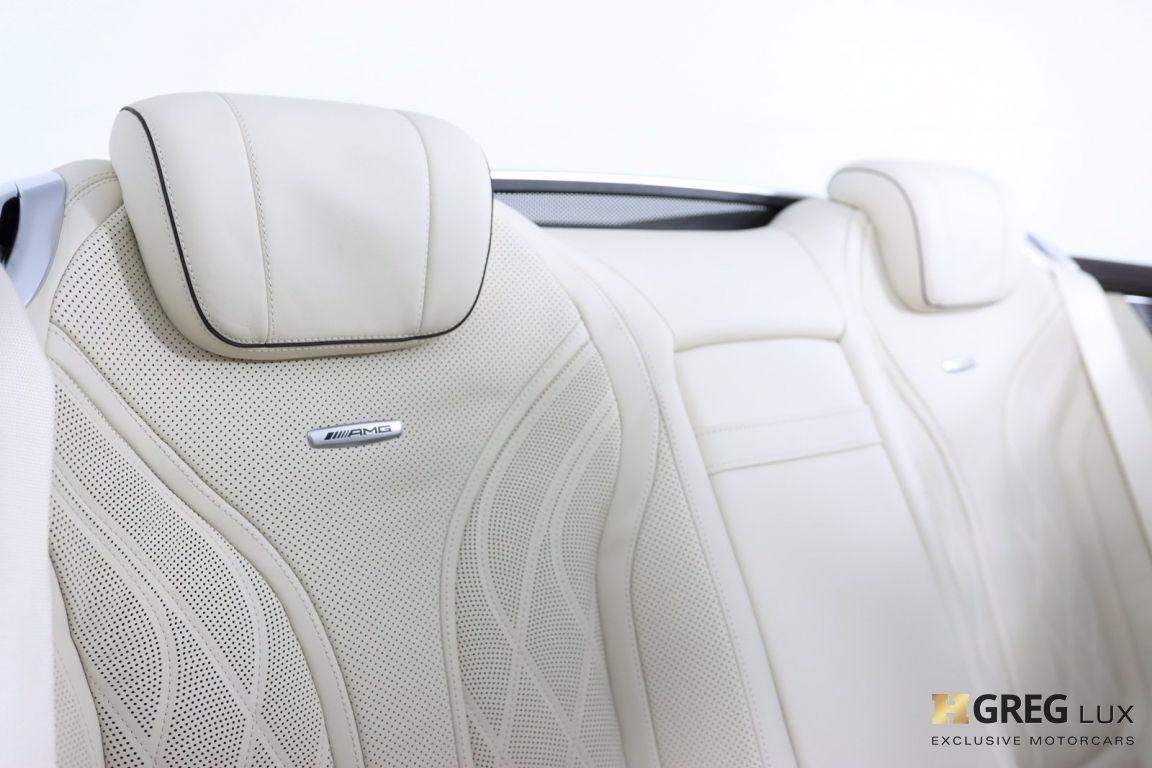 2019 Mercedes Benz S Class AMG S 63 #45