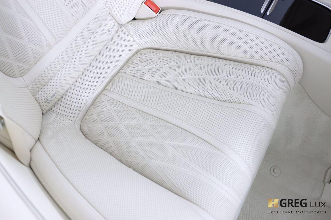 2019 Mercedes Benz S Class AMG S 63 #46