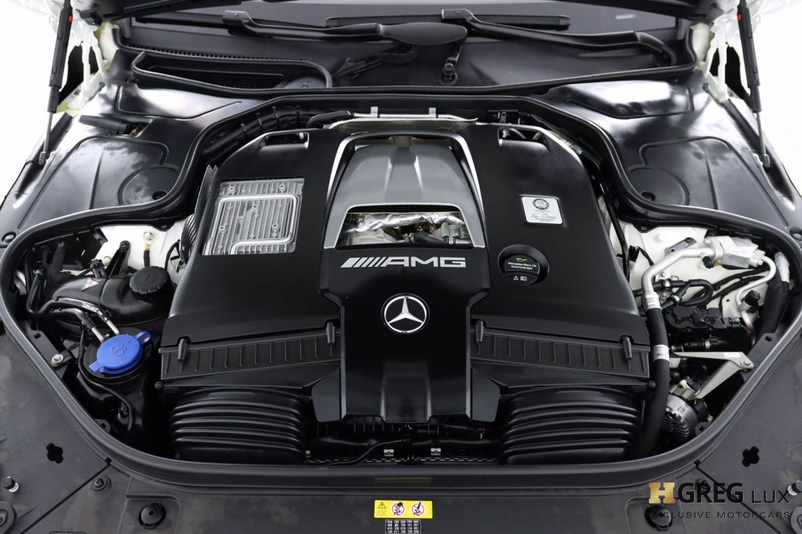2019 Mercedes Benz S Class AMG S 63 #74