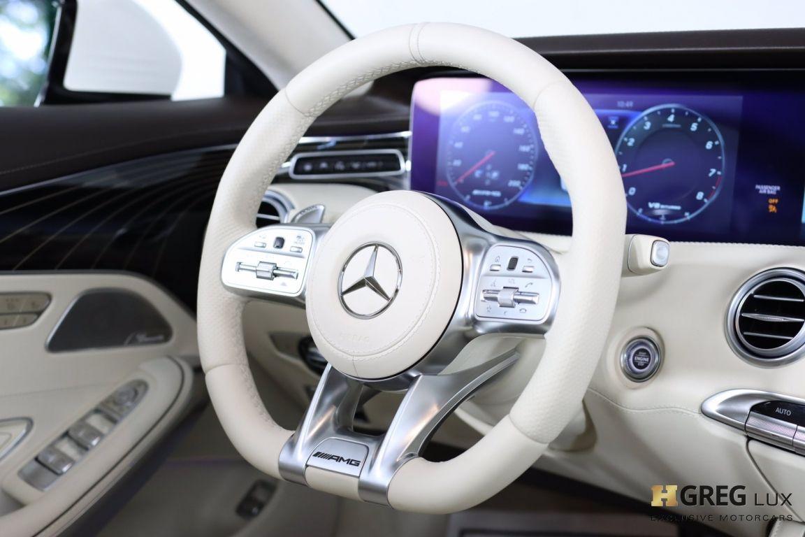 2019 Mercedes Benz S Class AMG S 63 #63