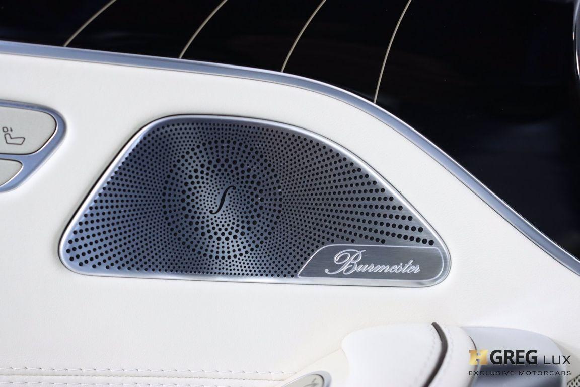 2019 Mercedes Benz S Class AMG S 63 #50