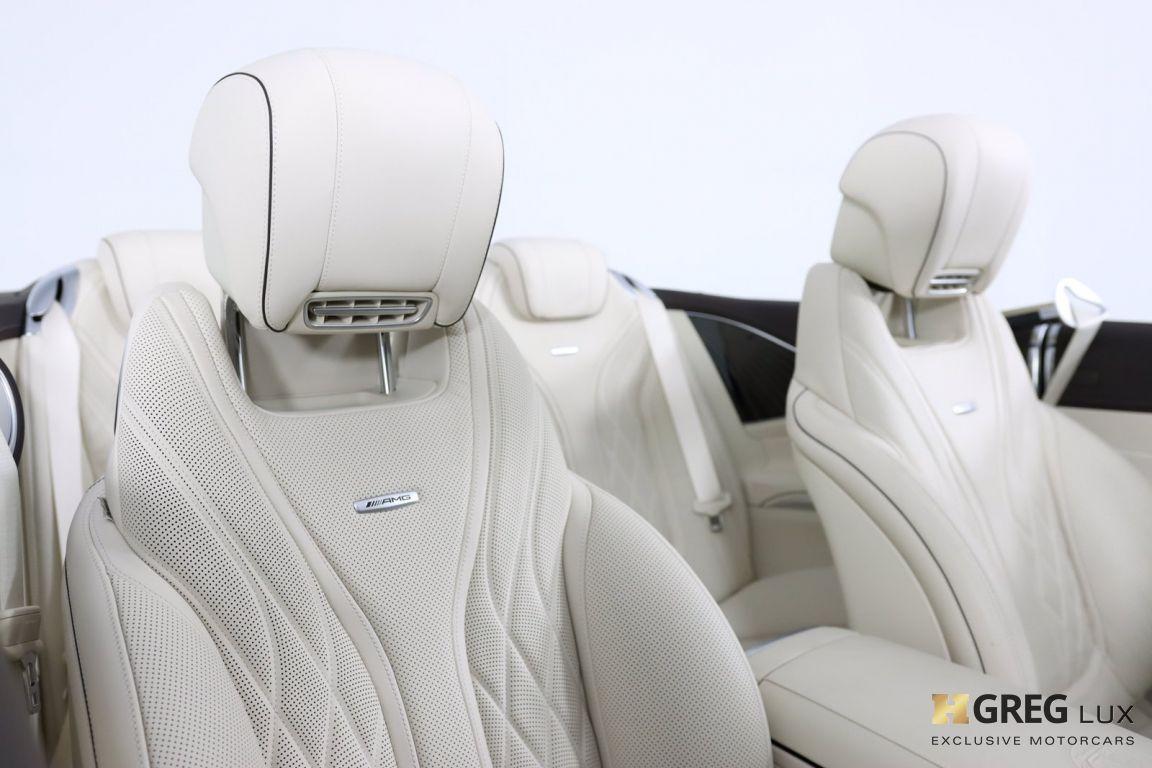 2019 Mercedes Benz S Class AMG S 63 #43