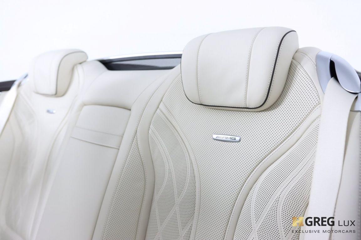 2019 Mercedes Benz S Class AMG S 63 #41