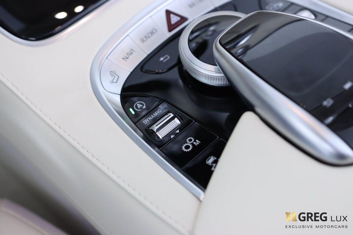 2019 Mercedes Benz S Class AMG S 63 #58