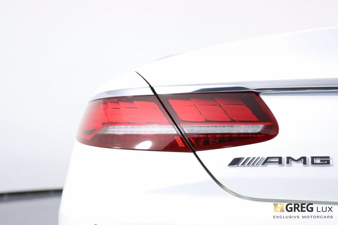 2019 Mercedes Benz S Class AMG S 63 #23