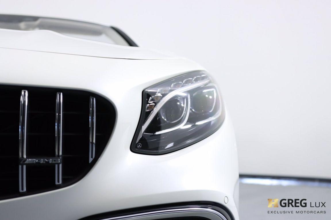 2019 Mercedes Benz S Class AMG S 63 #6
