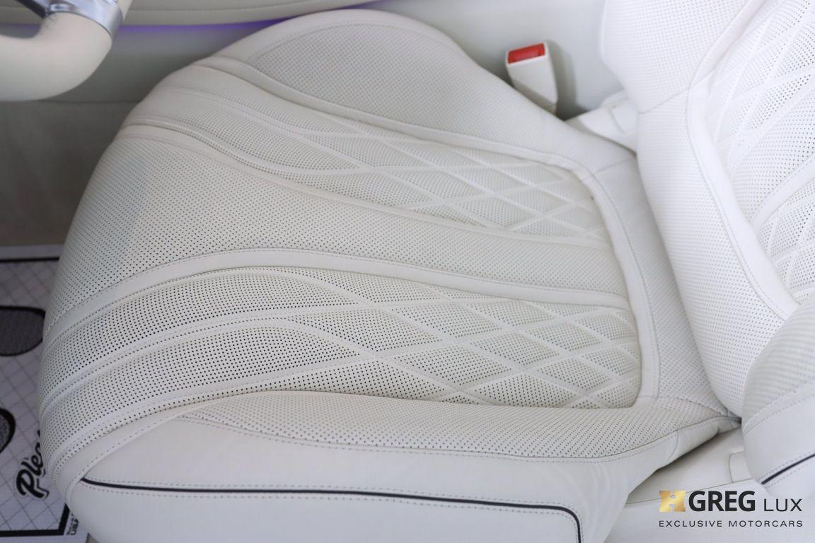 2019 Mercedes Benz S Class AMG S 63 #40