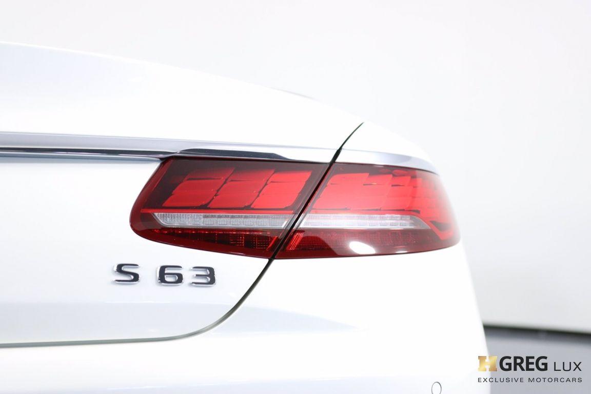 2019 Mercedes Benz S Class AMG S 63 #24