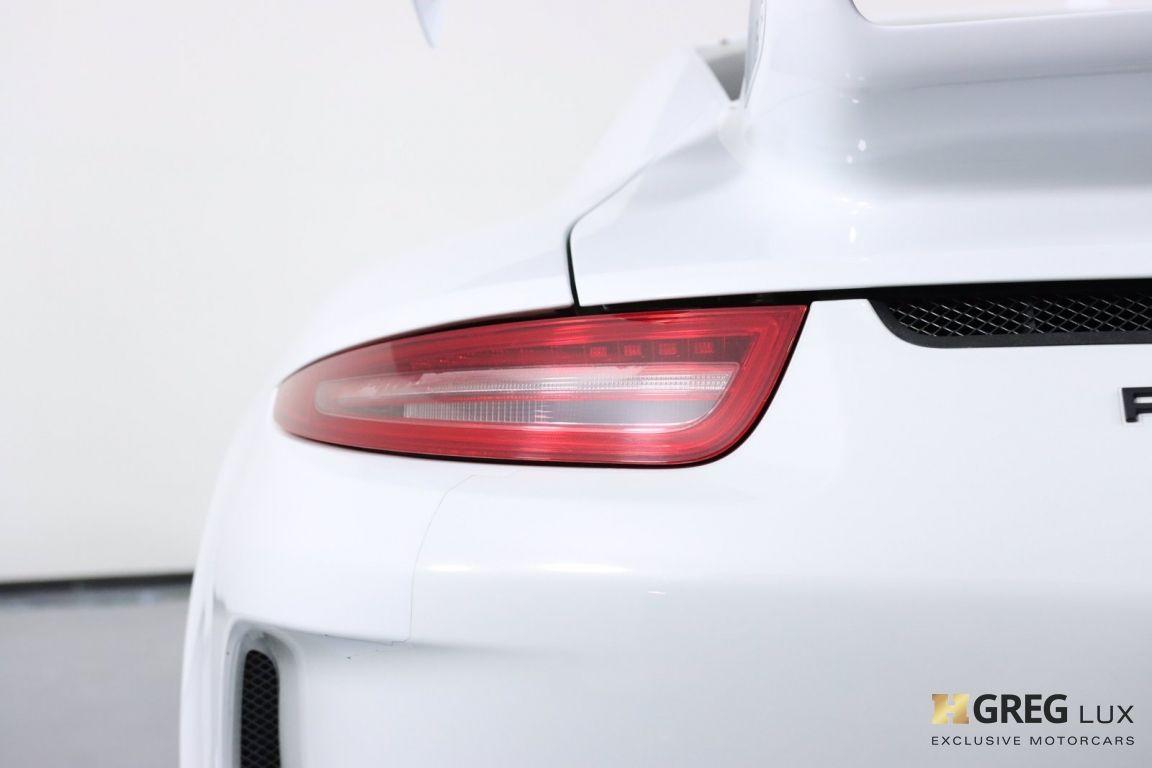 2015 Porsche 911 GT3 #19