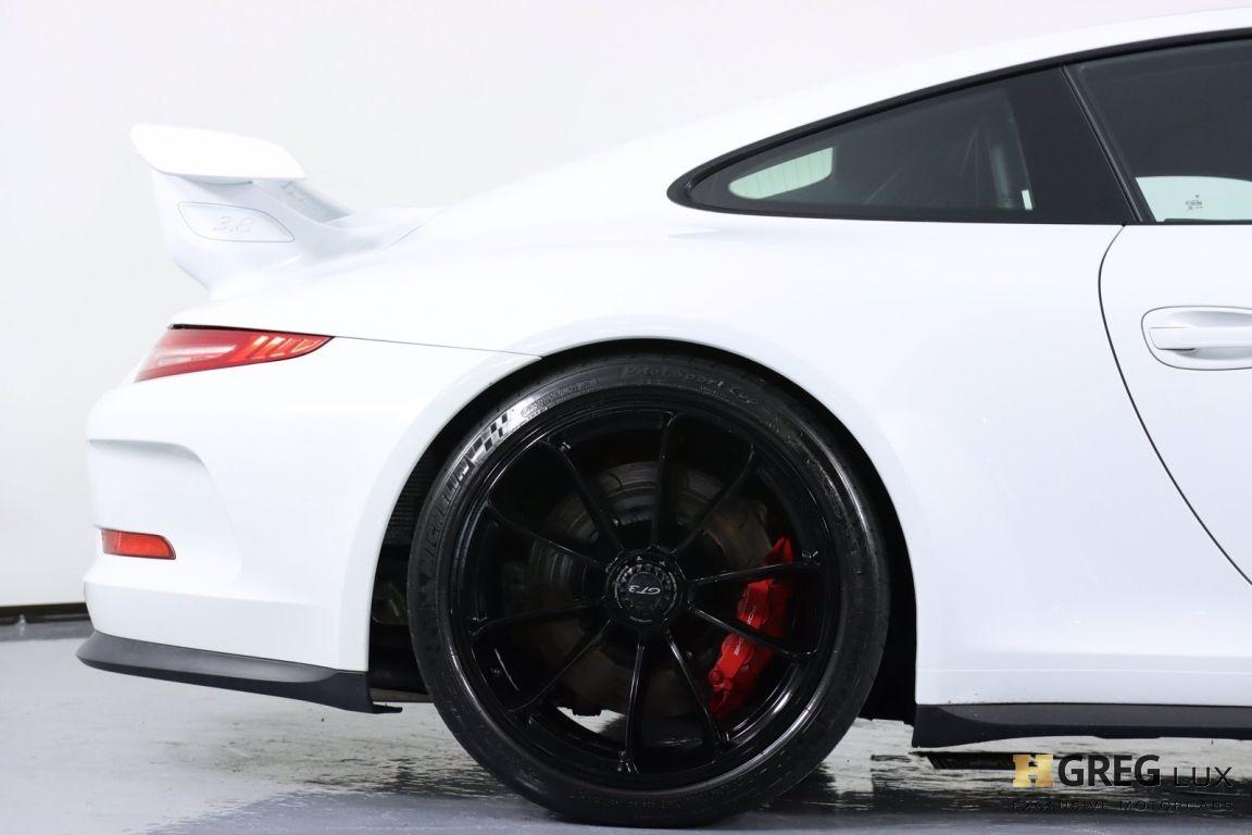 2015 Porsche 911 GT3 #14