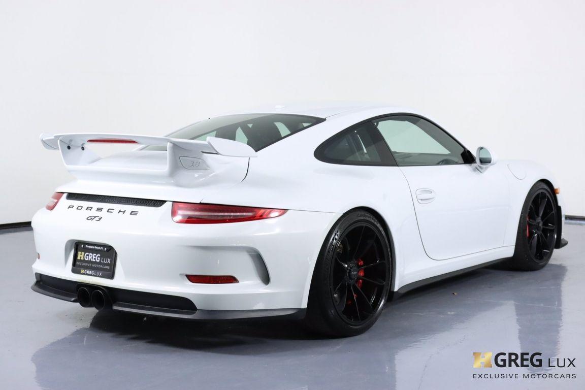 2015 Porsche 911 GT3 #17