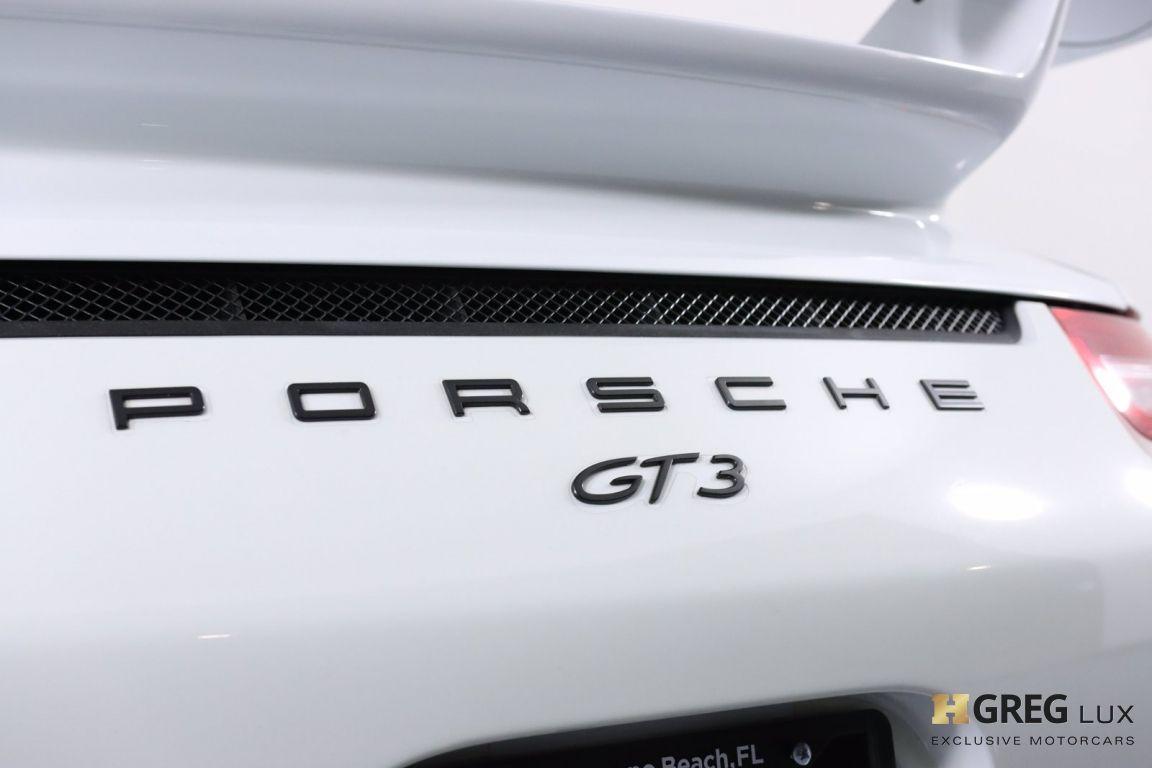 2015 Porsche 911 GT3 #21