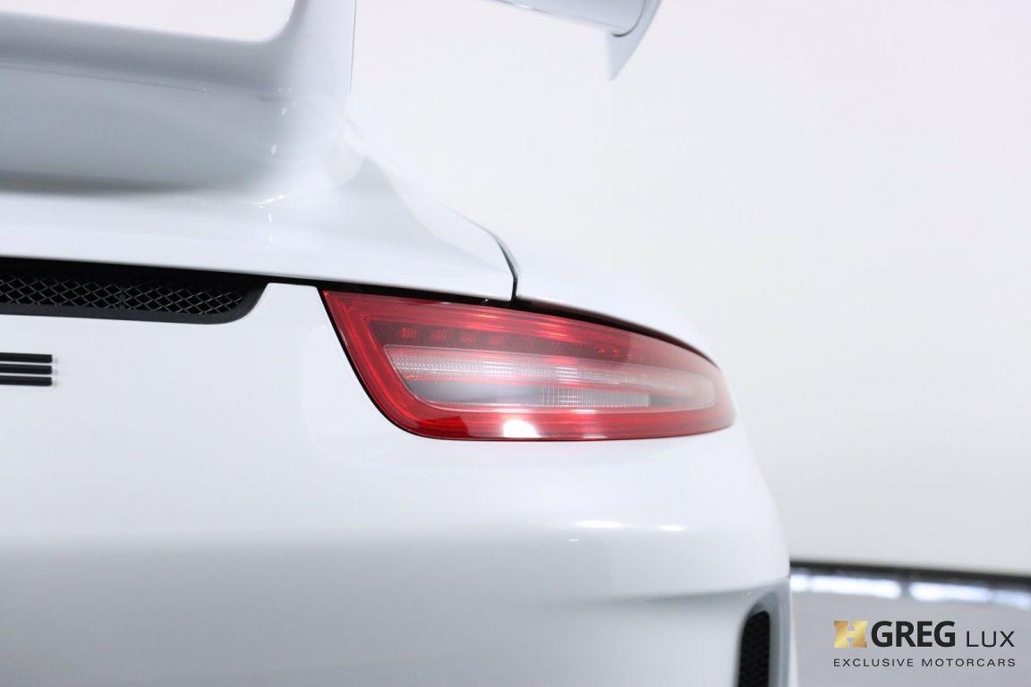 2015 Porsche 911 GT3 #20