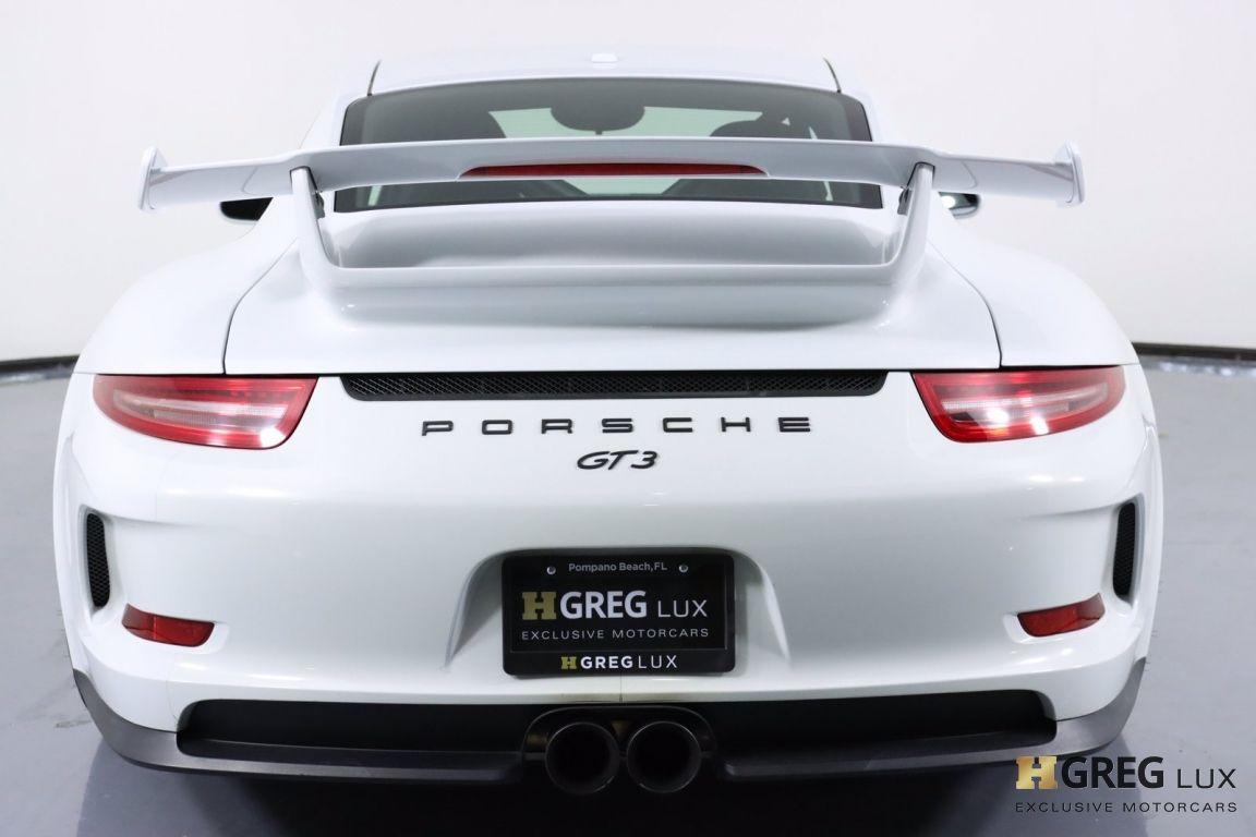2015 Porsche 911 GT3 #18