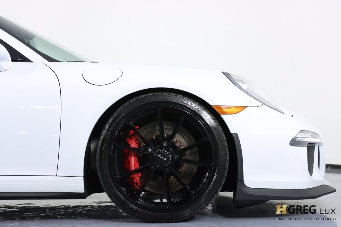 2015 Porsche 911 GT3 #11