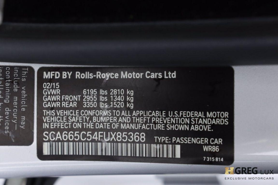2015 Rolls Royce Wraith  #62