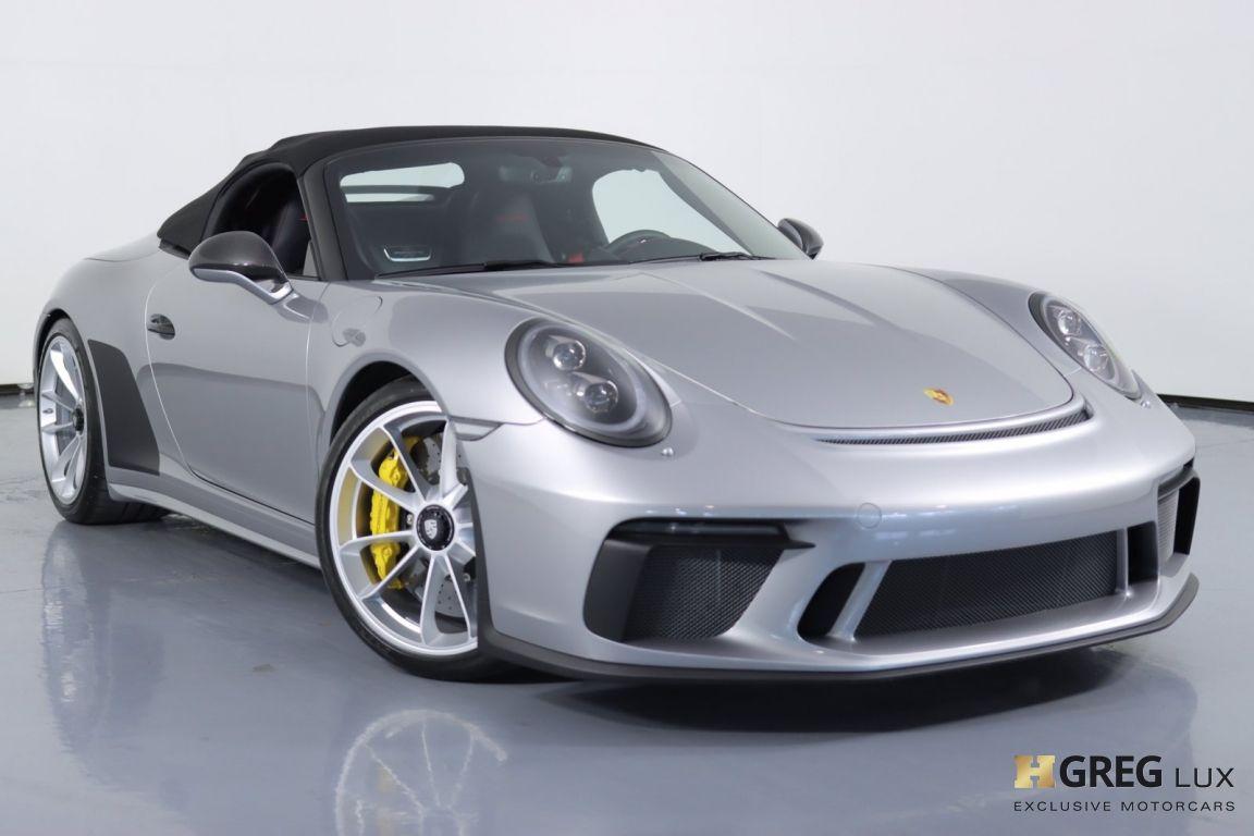 2019 Porsche 911 Speedster #3