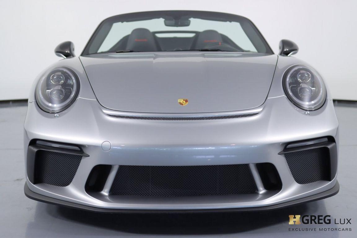 2019 Porsche 911 Speedster #6