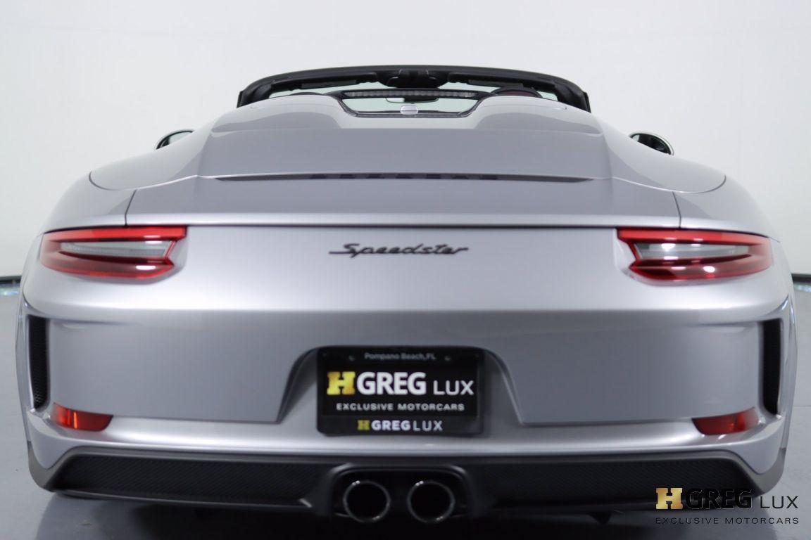 2019 Porsche 911 Speedster #21
