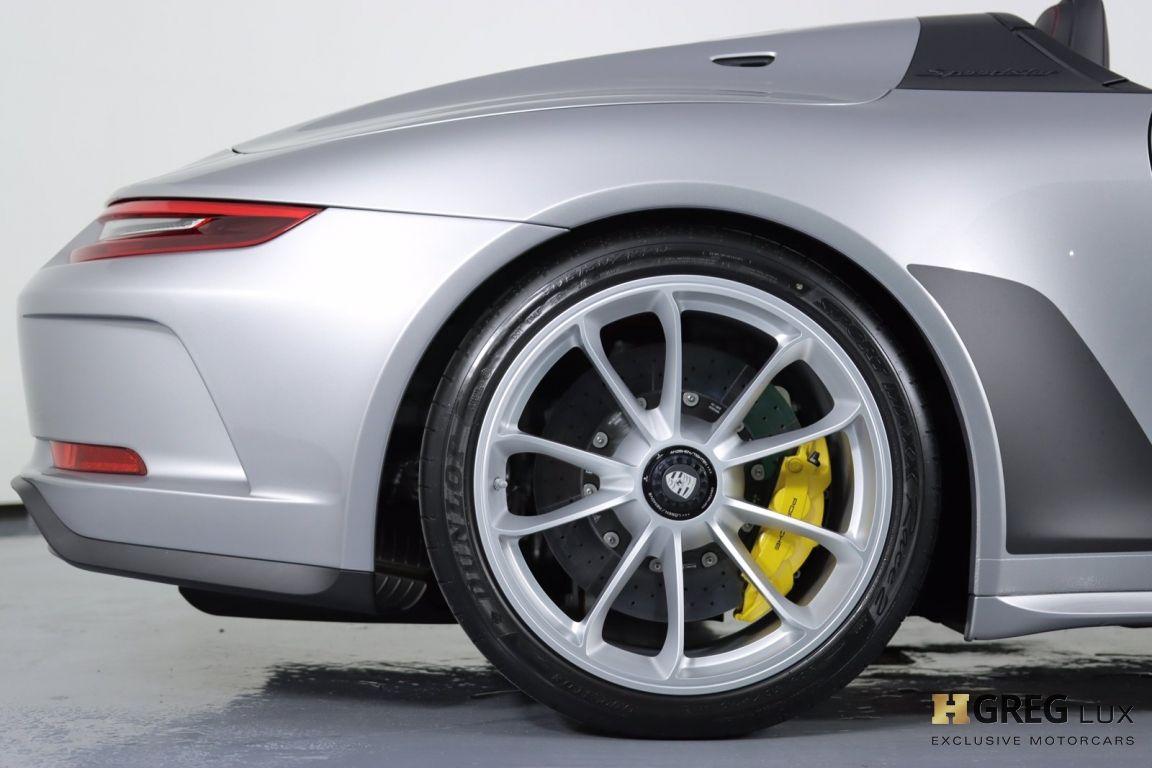 2019 Porsche 911 Speedster #17